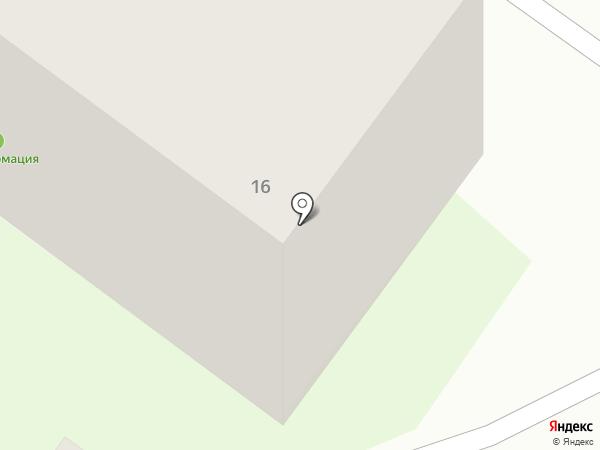 ЗдравСити на карте Бора