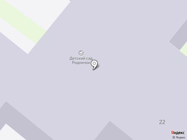 Детский сад №23, Родничок на карте Бора