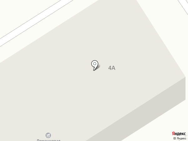 Ламашковая улица на карте Кстово