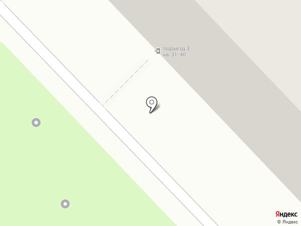 Растяпино на карте Кстово