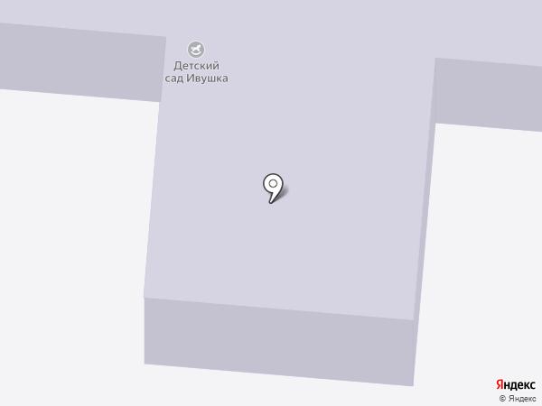 Ивушка на карте Бора