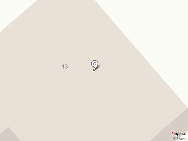 Бризоль на карте Бора