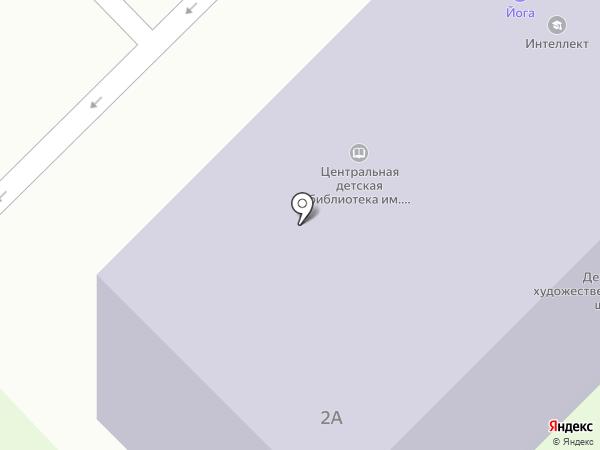 Центральная детская библиотека им. В.С. Рыжакова на карте Кстово