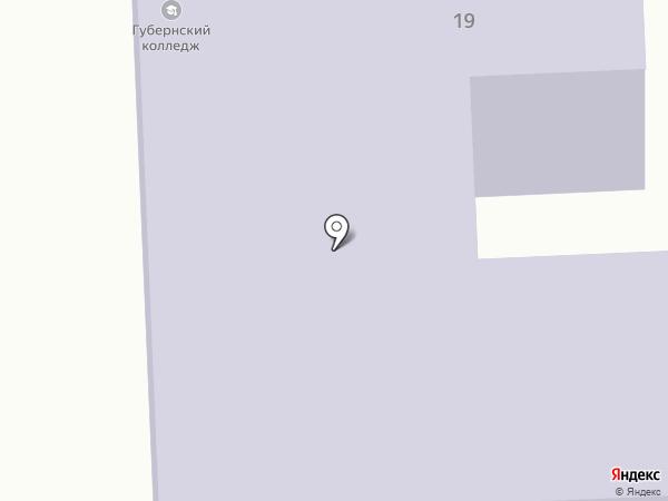 Борский Губернский колледж на карте Бора