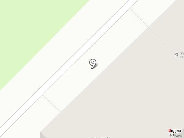 Народный на карте Кстово