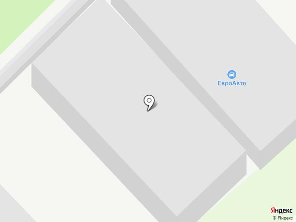 ЕвроАвто на карте Кстово