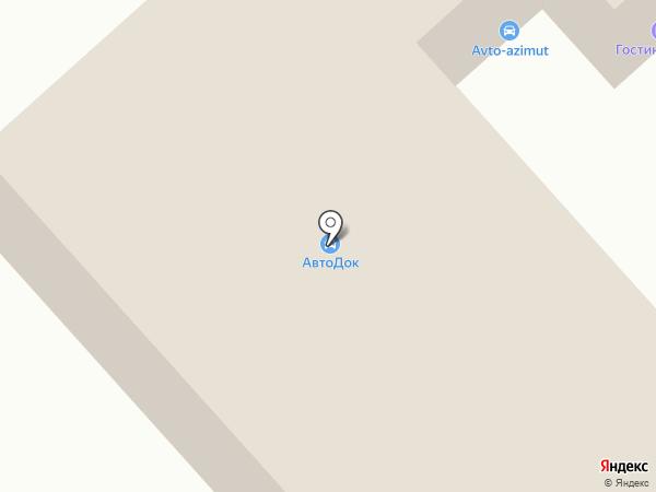 Утенок на карте Кстово