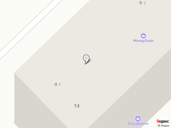 Саквояж на карте Кстово