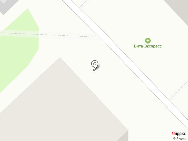 Фабрика ОКОН на карте Кстово