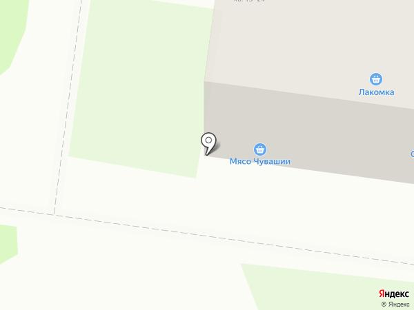Имплозия на карте Кстово