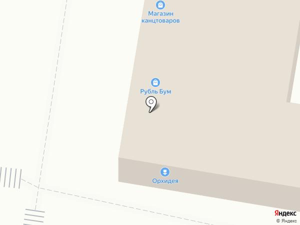 Магазин канцтоваров на ул. Чванова на карте Кстово