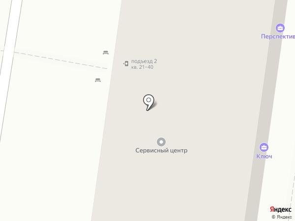 Перспектива на карте Кстово