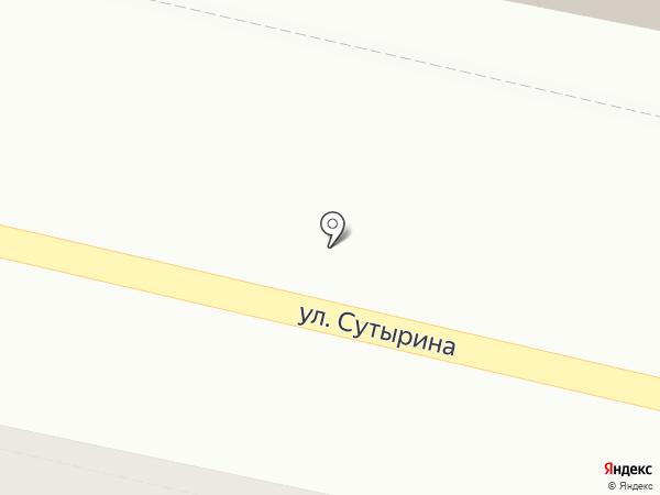 Магазин часов на ул. Сутырина на карте Кстово