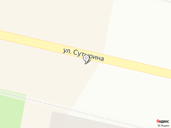 Магазин строительных материалов на карте Кстово