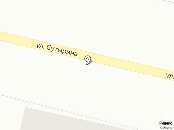 Магазин строительных материалов на ул. Чванова на карте Кстово