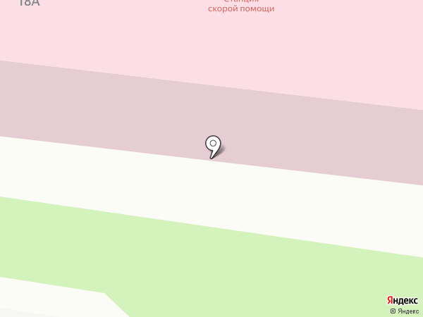 Станция скорой помощи на карте Кстово