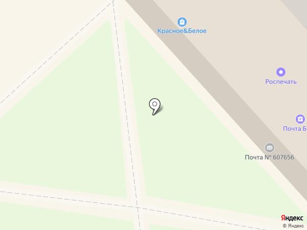 Солянка на карте Кстово