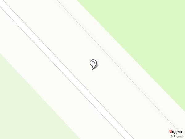 Медведь на карте Кстово