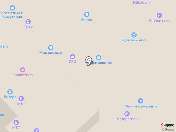 БЕЛ ФЕЯ на карте Кстово