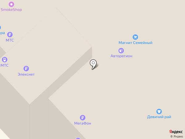 Магнит на карте Кстово
