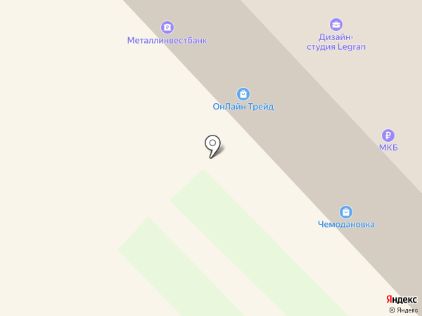 Чемодановка на карте Кстово