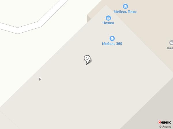 Стела на карте Кстово