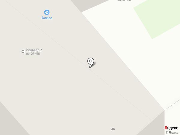Маренго на карте Кстово