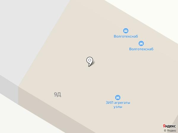 Автотехцентр на карте Волгограда