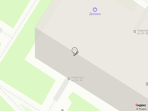 Долина на карте Волгограда