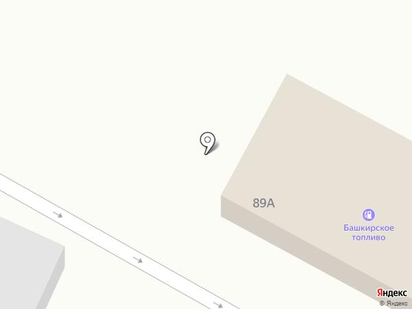 АЗС Башнефть на карте Волгограда