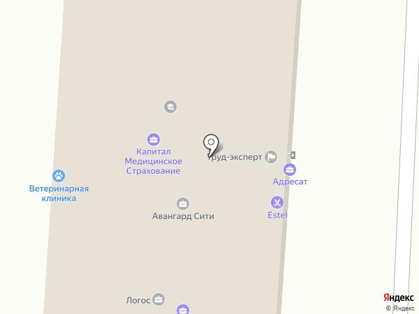 Л-Град на карте Волгограда