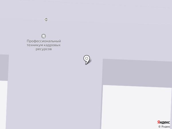 Волгоградский профессиональный техникум кадровых ресурсов на карте Волгограда