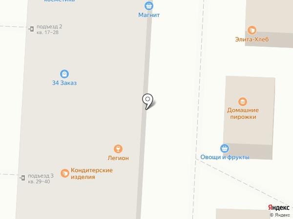 Дачный дворик на карте Волгограда