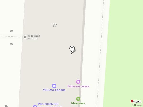 Форвард на карте Волгограда