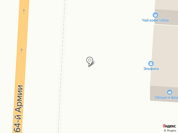 Магазин хозтоваров на карте Волгограда