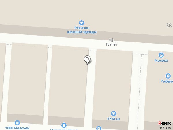 Магазин подарков и сувениров на карте Волгограда