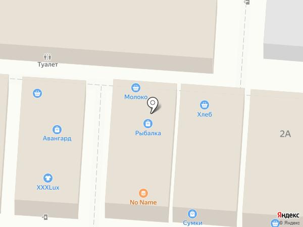 Магазин молочной продукции и меда на карте Волгограда