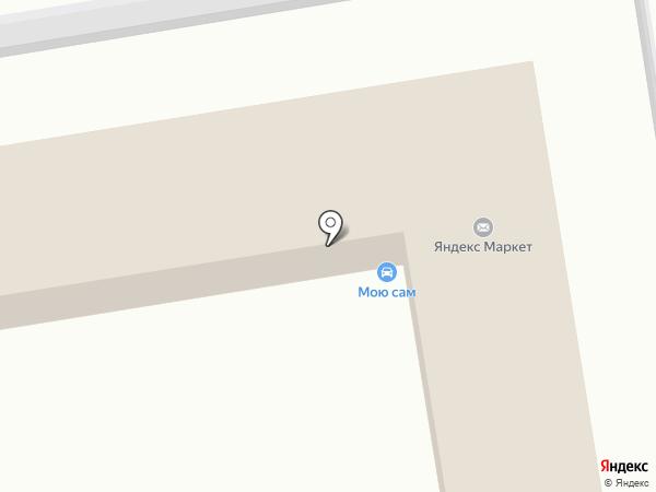 Мою сам на карте Волгограда