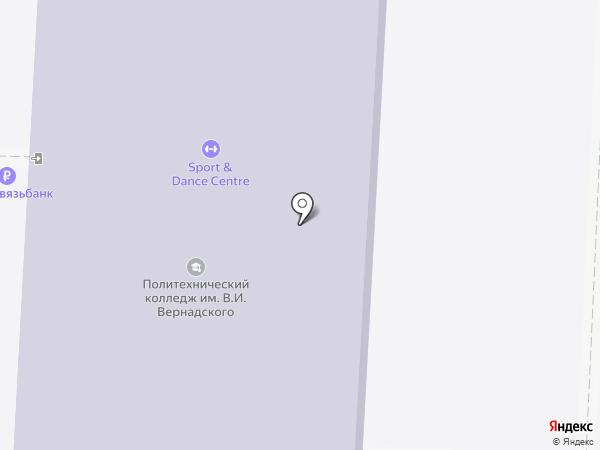 Волгоградский политехнический колледж им. В.И. Вернадского на карте Волгограда