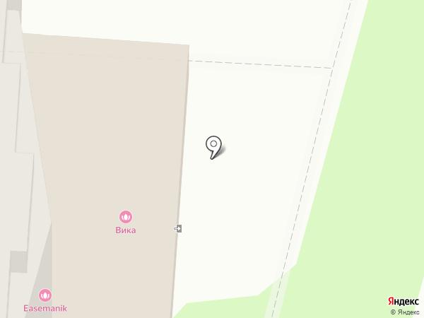 Салон красоты на карте Волгограда
