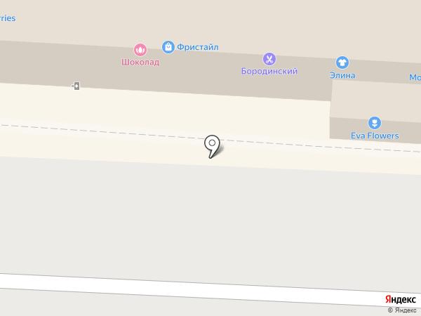 Рустерс на карте Волгограда