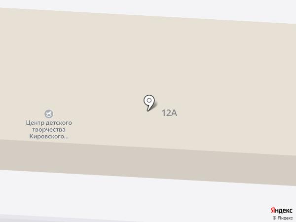Центр детского творчества Кировского района на карте Волгограда