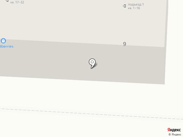 Линь на карте Волгограда