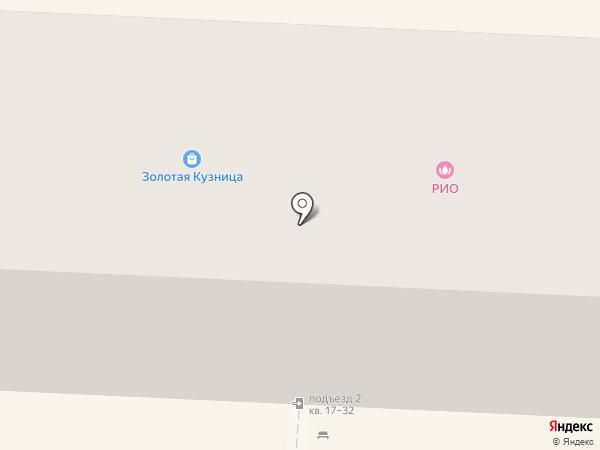 Пивная Бочка на карте Волгограда