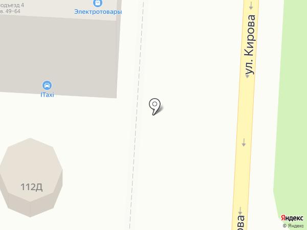 Гвардеец на карте Волгограда