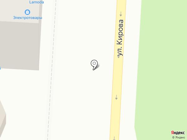 Палитра на карте Волгограда
