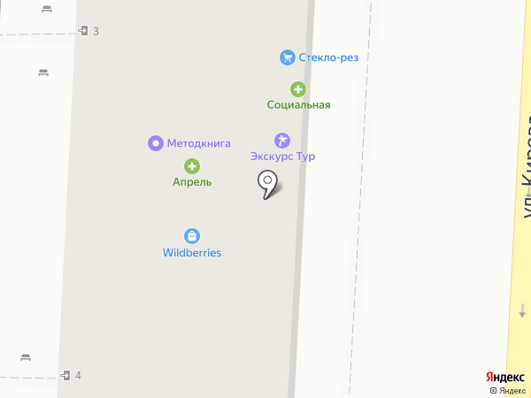 Экскурс-Тур на карте Волгограда