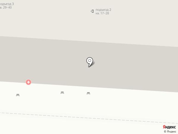 Поликлиника №5 на карте Волгограда