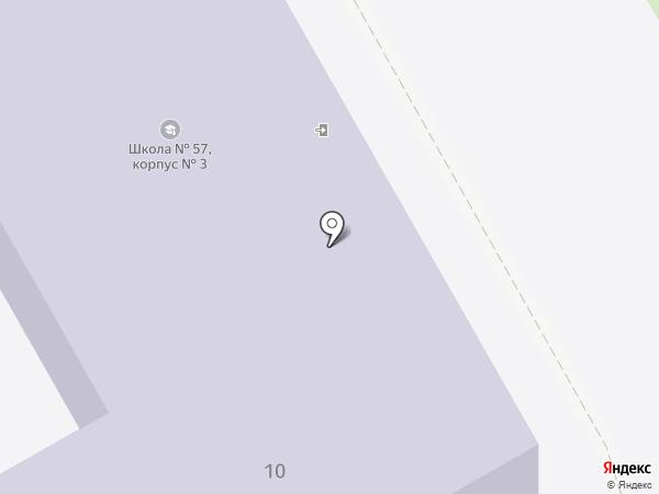Основная общеобразовательная школа №108 на карте Волгограда
