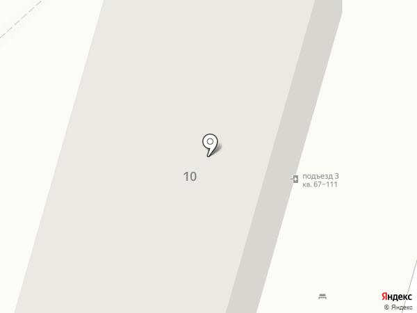 Фортуна на карте Волгограда